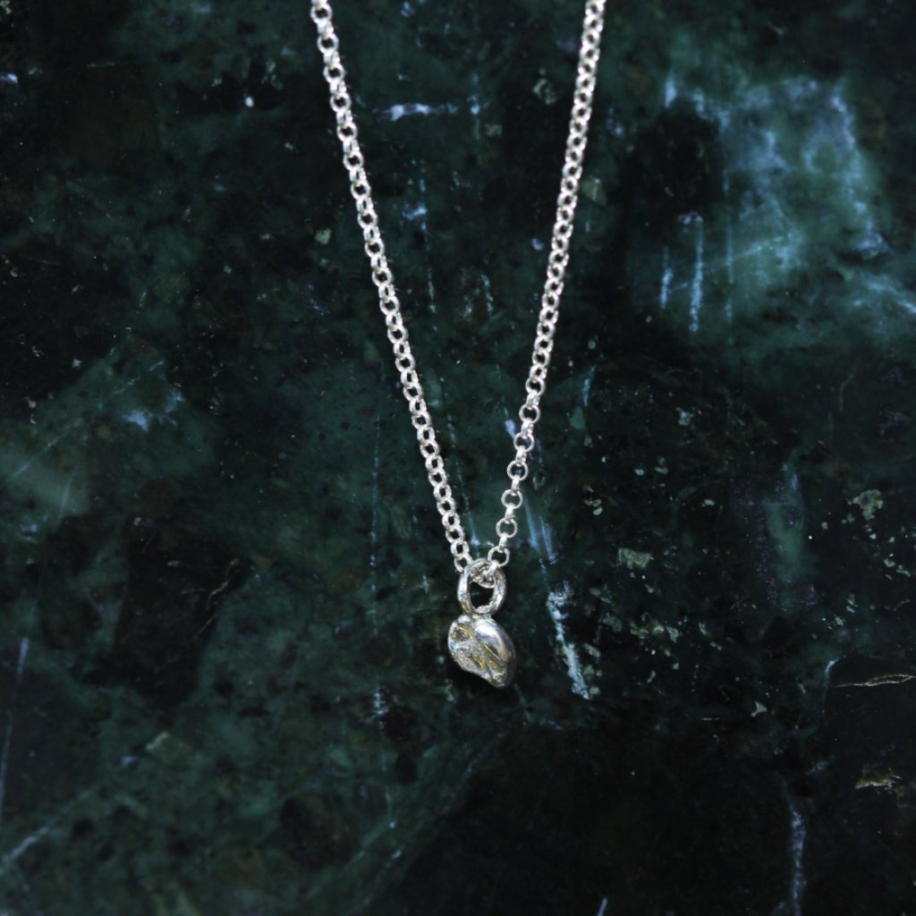 3 4 0 // meteora necklace - sterling silver