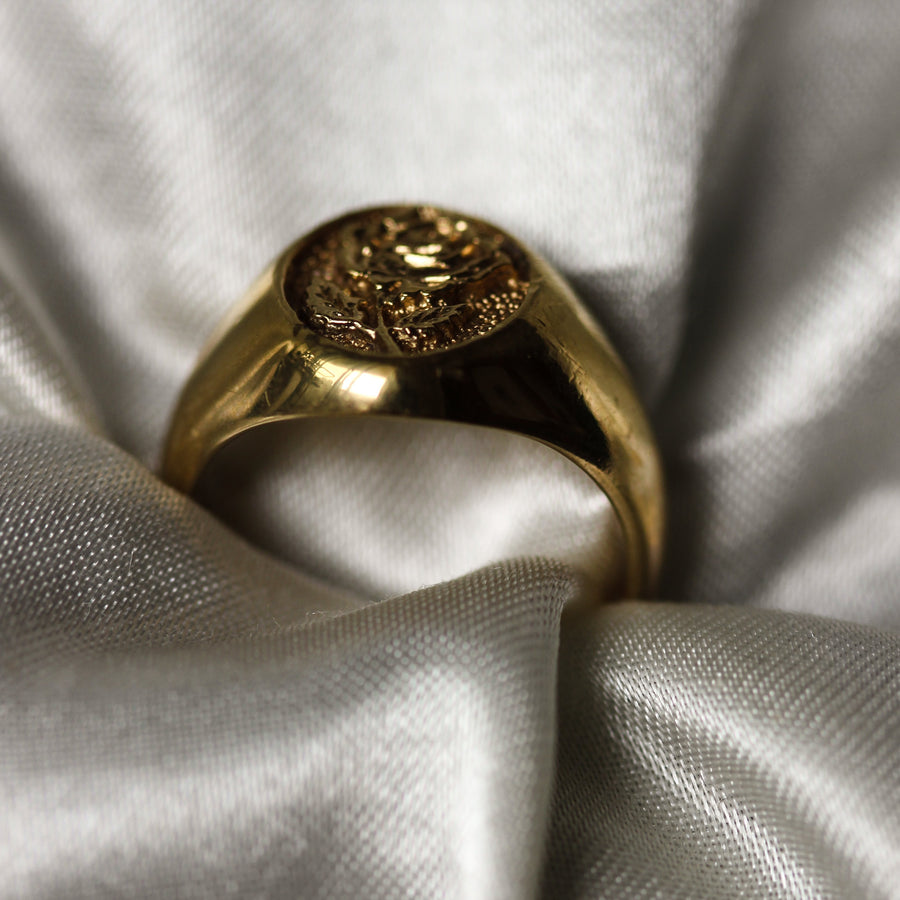 5 3 9 // rose signet ring