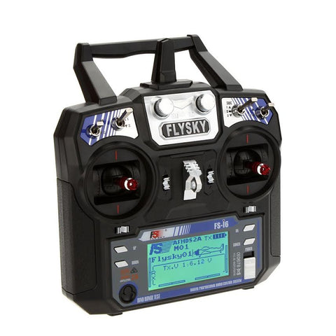 FLYSKY FS -16  2.4 GHz 6-Channel Transmitter (Mode 1 or Mode 2)