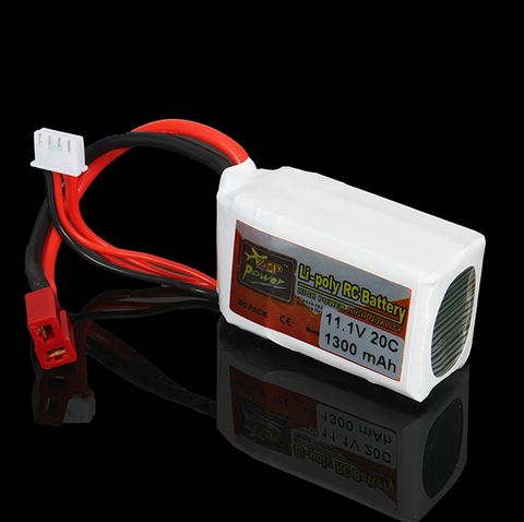 Extra Rechargeable Battery For Your RC LED Jet Plane. 1300 mAh