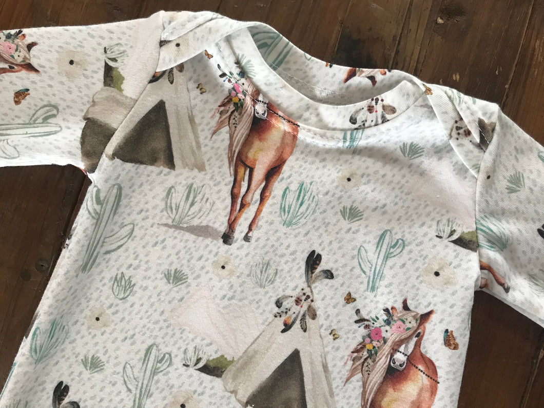 Baby Gown- Your Choice 24 Fabric Options