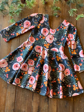 Mountain Floral Twirl Dress