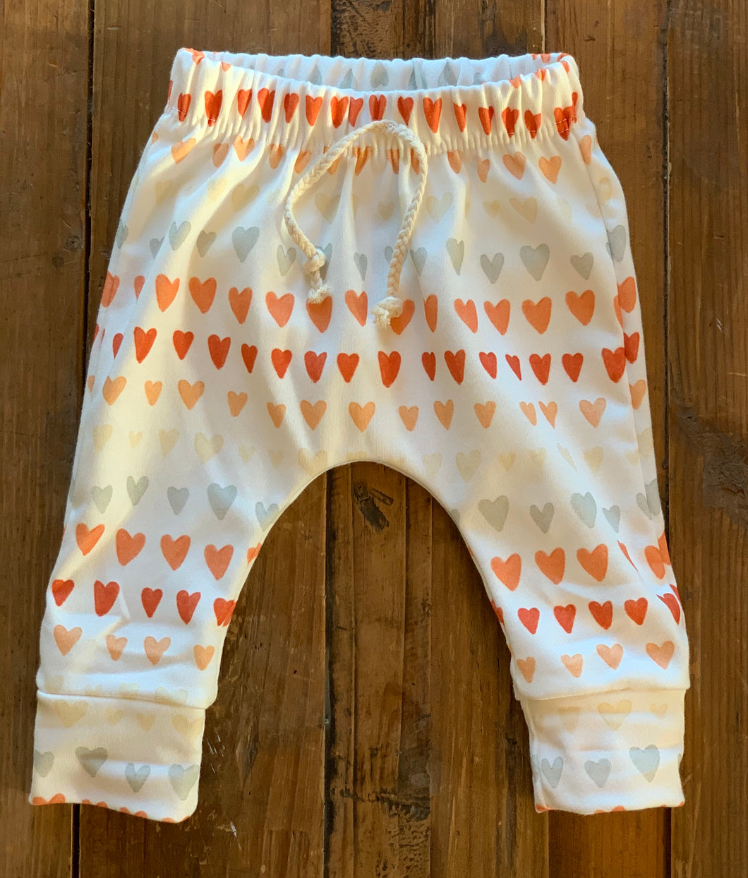 Ombre Vintage Heart Leggings
