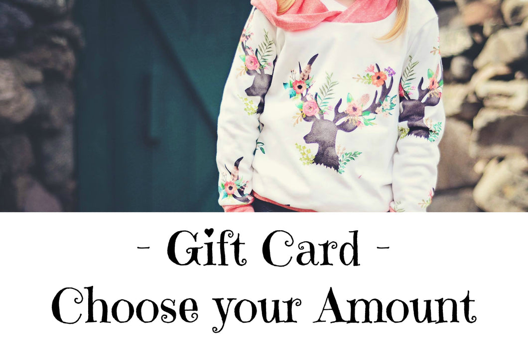 Paisley Pear Designs GIFT CARD- Choose your Amount