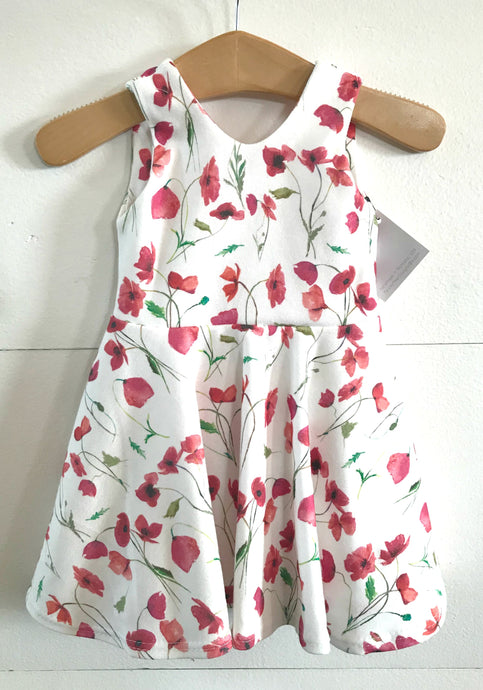 RTS Poppy Field Twirl Dress