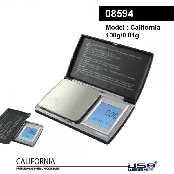California Digital Pocket Scale