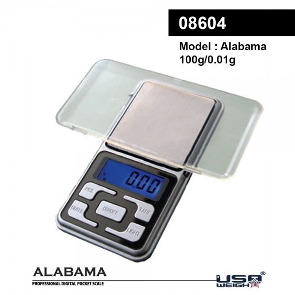 Alabama | Digital scale 100g - 0.01g