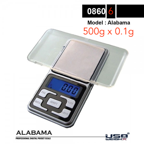 Alabama | Digital scale 500g - 0.1g