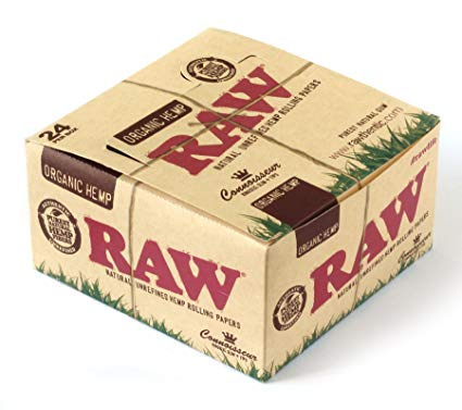 Raw Organic Hemp Connoisseur King Size