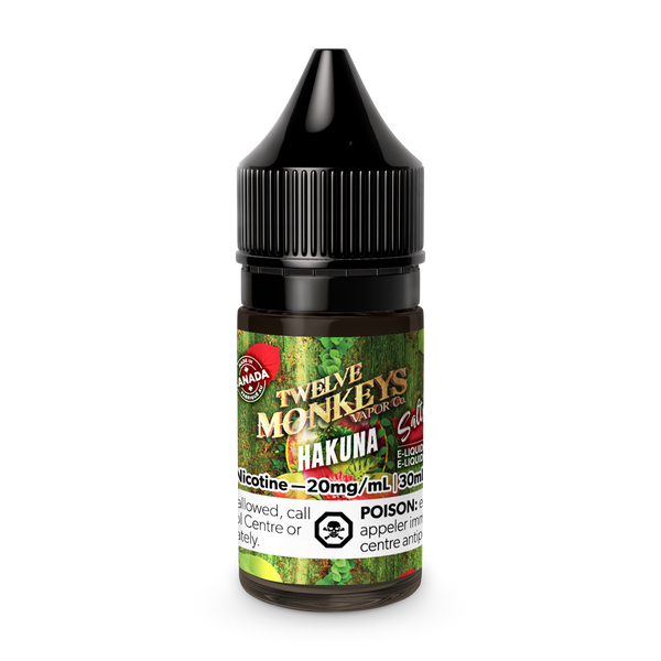 Twelve Monkeys Salts - Hakuna 30ml