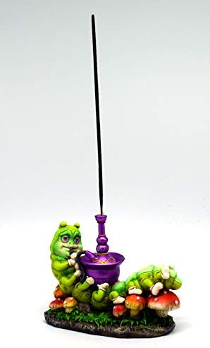 Caterpillar Smoking Hookah Incense Burner