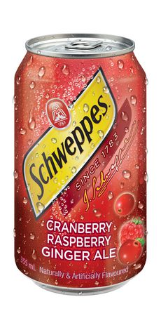 Schweppes - Cranberry Raspberry Ginger Ale