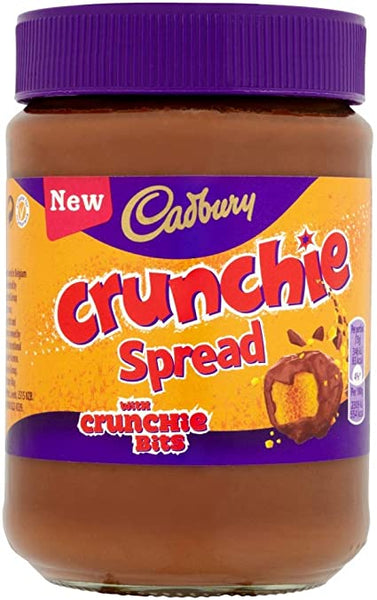 Cadbury Crunchie Spread with Crunchie Bits
