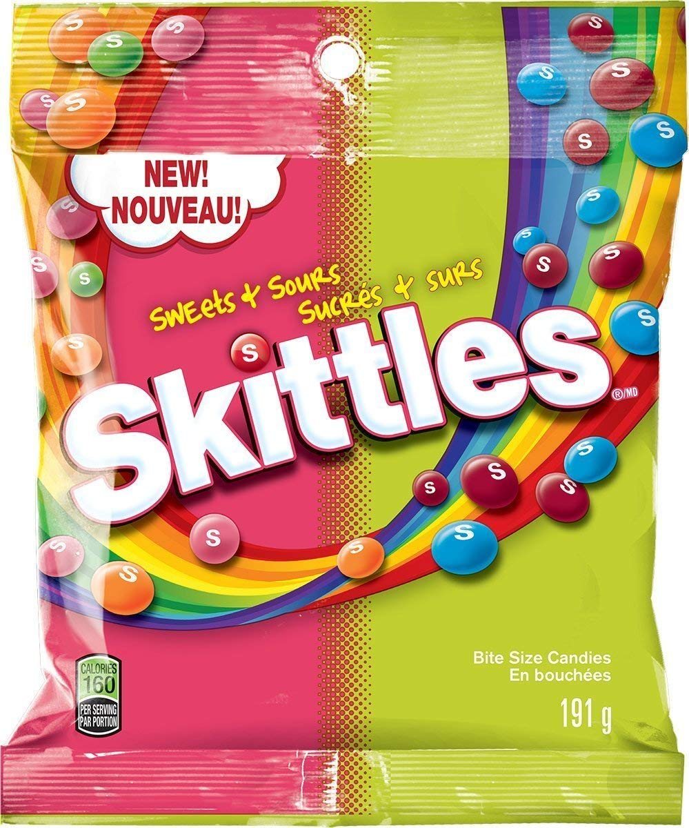 Skittles - Sweet and Sour