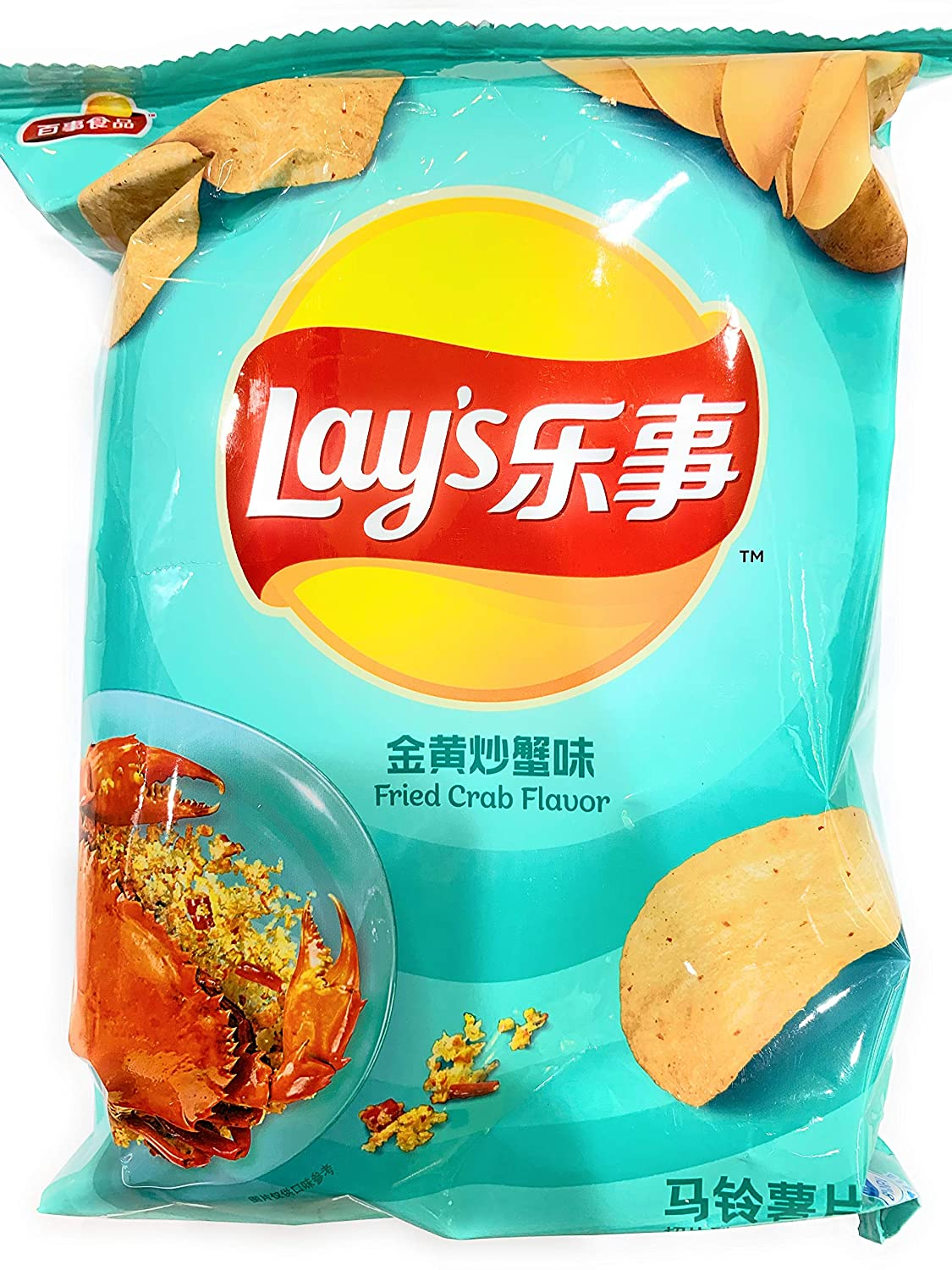 Lays Fried Crab Flavor