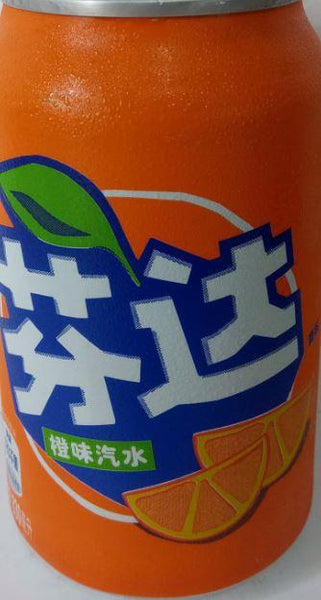 Fanta Orange China (cannette 330ml)