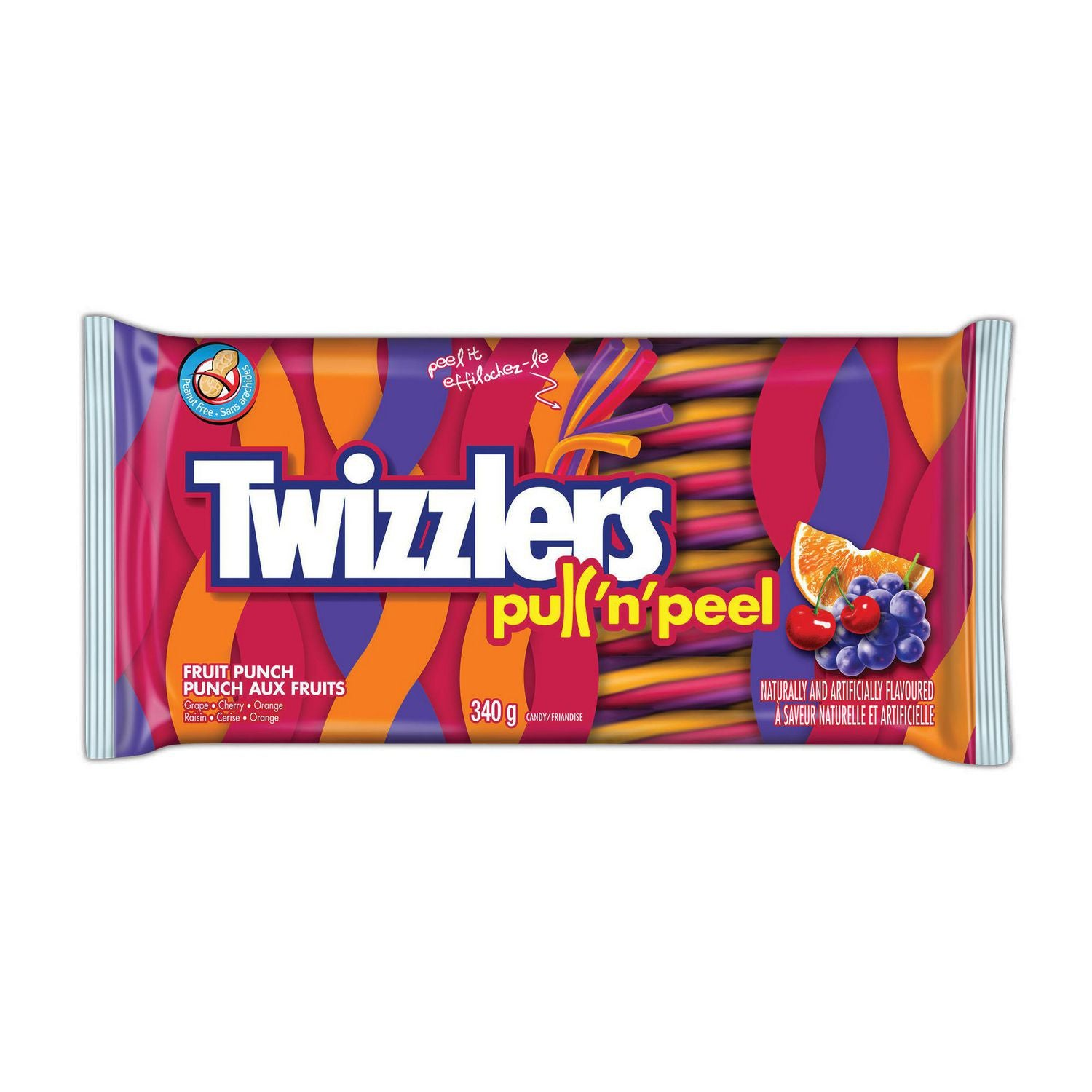 Twizzlers Pull'N'Peel Fruit Punch
