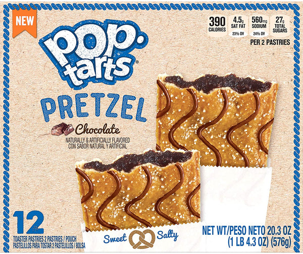 Pop Tarts Pretzel Chocolate