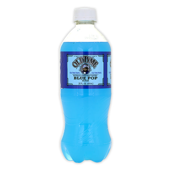 Old Tyme - Blue Pop Soda