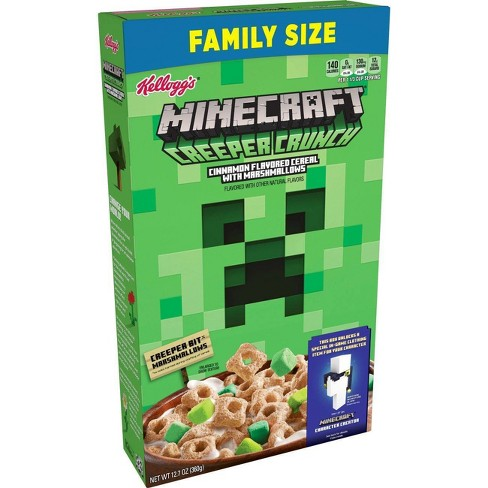 Kellogg's Minecraft Cereal Family Size - 12.7oz