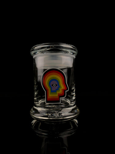 Rainbow Mind - 420 Science Pop Top Jar - Small