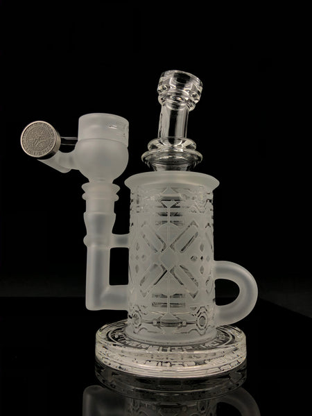 Mothership Glass - Blasted Klein 14mm