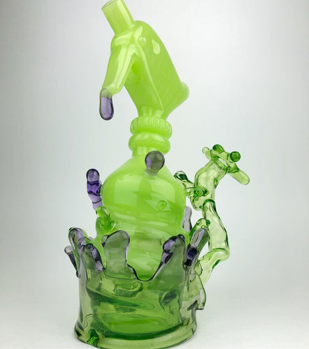 certo glass - thenorthboro - andrew certo - transformation piece - spray bottle - splash series