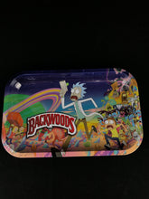 backwoods - rolling tray - rick and morty