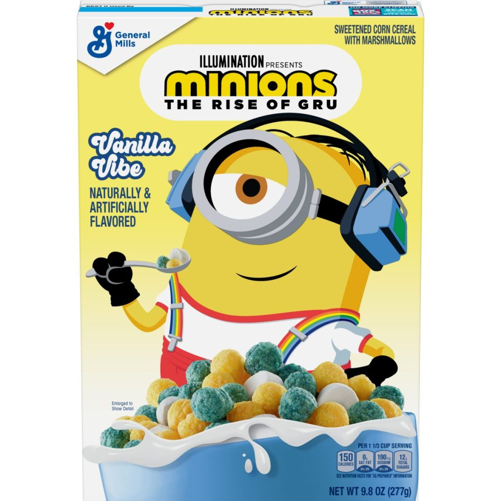 Minions Cereal