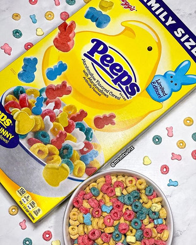 Peeps Cereal