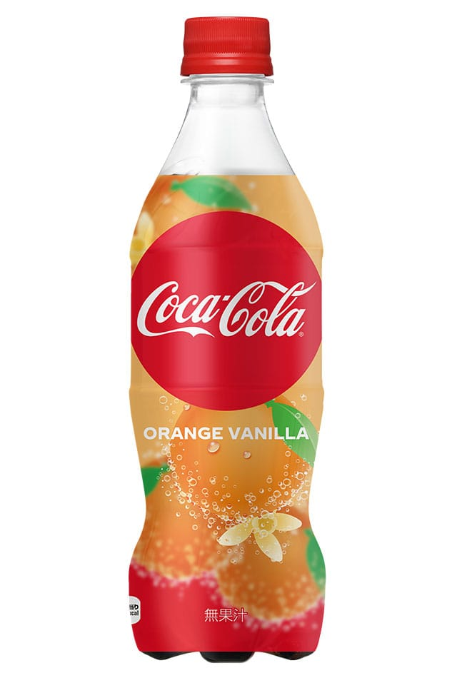 Coca cola Orange Vanilla (Japan)