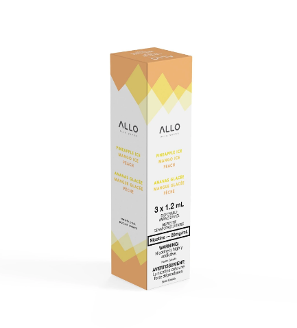 Allo Disposable - Starter Trio (Peach, Pineapple Ice, Mango Ice) 20mg