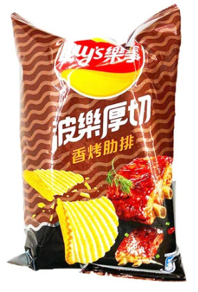 Lay's Chips (Char Grilled Ribs) 76g