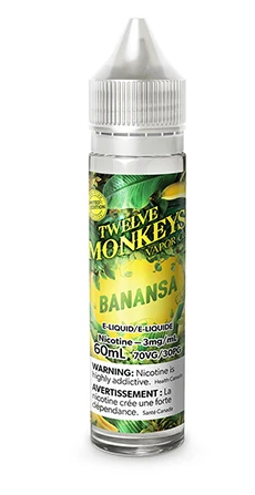 Twelve Monkeys- Banansa 3mg/60ml