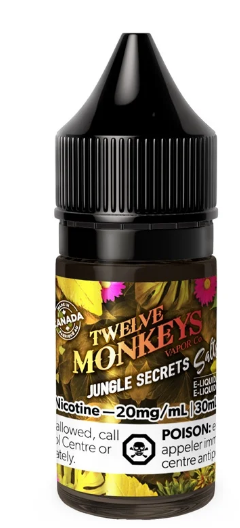 Twelve Monkeys Salts - Jungle Secrets 30ml
