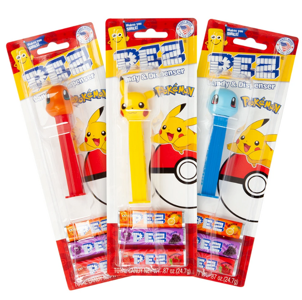 PEZ BLISTER - Pokemon Assortment