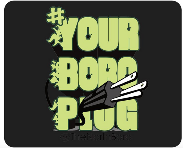 your boro plug - dab pad - dab mat - heady