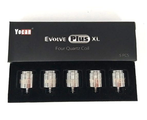 Yocan - Evolve Plus XL Quartz Coils