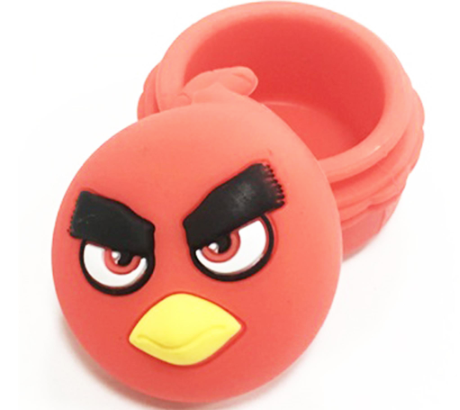 Angry Bird Silicon Container