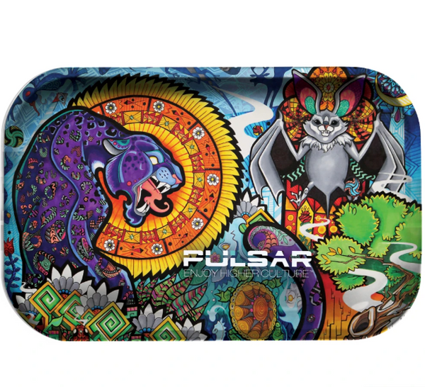 Pulsar Rolling Tray - Psychedelic Jungle
