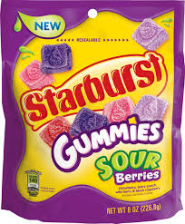 Starburst Gummies - Sour Berries
