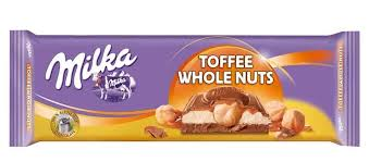 Milka - Toffee Whole Nuts 300g