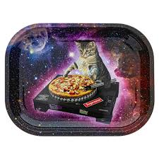 DJ Cat Rolling Tray