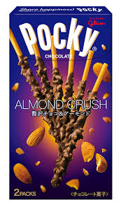 Glico Pocky Chocolate Almond Crush