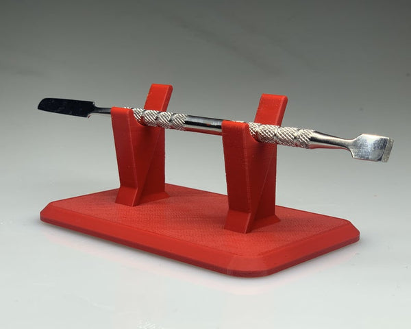 Single Dabber Stand - Red / Rack for holding one dab tool wand - holder for dabbing tools