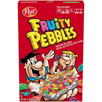 fruity pebbles - canada - cereals - rare snacks