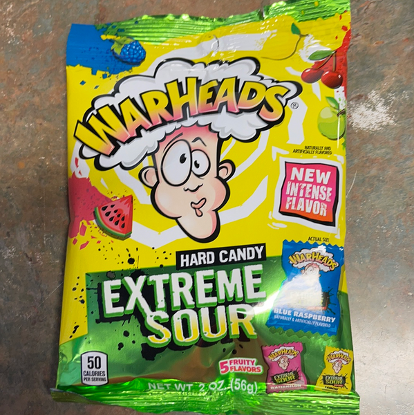 Warheads Hard Candy