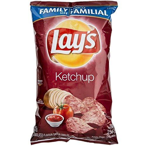 lays - lay's - ketchup - chips - canadian - flavour - for sale - shipped - best price - canadian snacks - the north boro