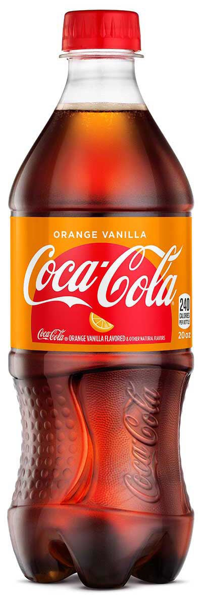 Coca Cola - Orange Vanilla