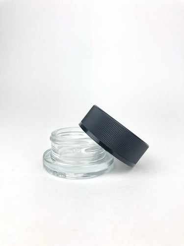 9ml CR Glass Jar w/ Lid - 80PCS